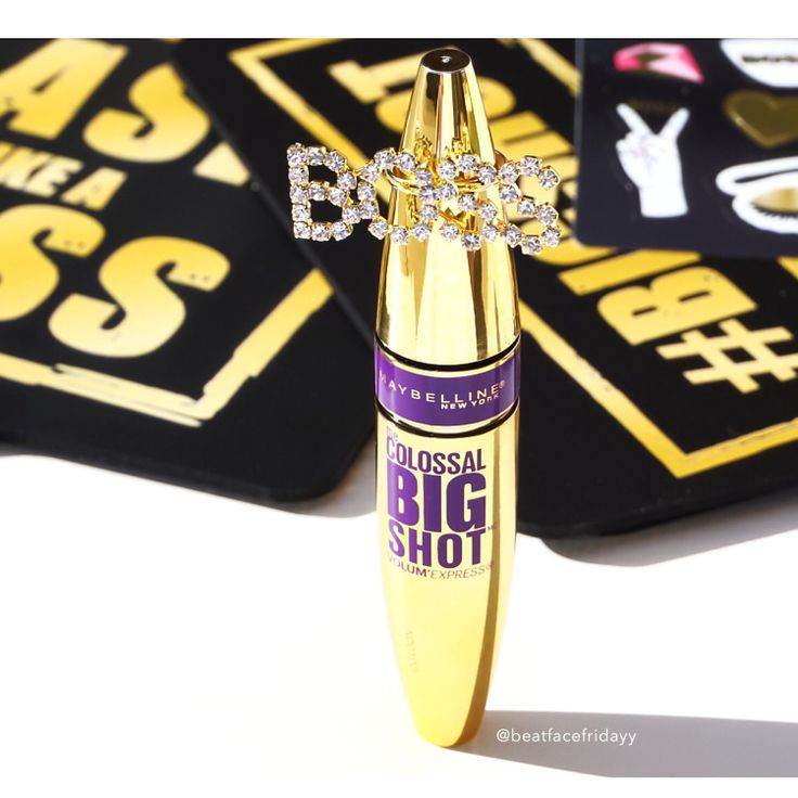 Maybelline Colossal Big Shot Mascara (Sneak Peek) – beatfacefridayy