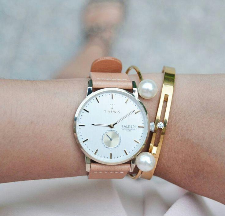 Minimalistyczna biżuteria i zegarek Triwa to dobre połączenie!