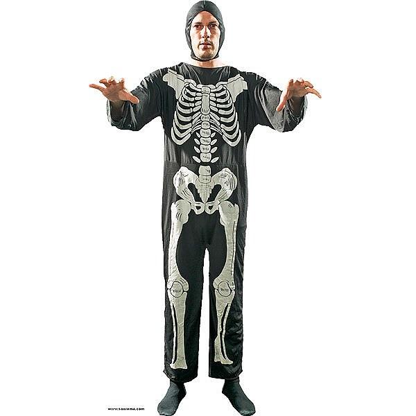 Disfraz de Esqueleto #miedo #terror #disfraces #esqueleto #halloween