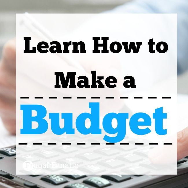 how to make a personal budget cba