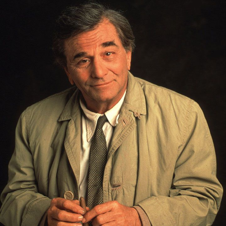 "Peter Falk -- (9/16/1927-6/23/2011). American Actor. Her portrayed Lt. Columbo on TV Series ""Columbo"", Daniel O'Brien on ""The Trials of O'Brien"". Movies -- ""A Woman Under the Influence"" as Nick Longhetti, ""The Great Race"" as Maximillian 'Max' Meen, ""Wings of Desire"" as Peter Falk, ""The Princess Bride"" The Grandfather/Narrator, ""Roommates"" as Rocky Holzcek.  He died of Cardiorespiratory Arrest, with Pneumonia and Alzheimer's Disease, age 83."