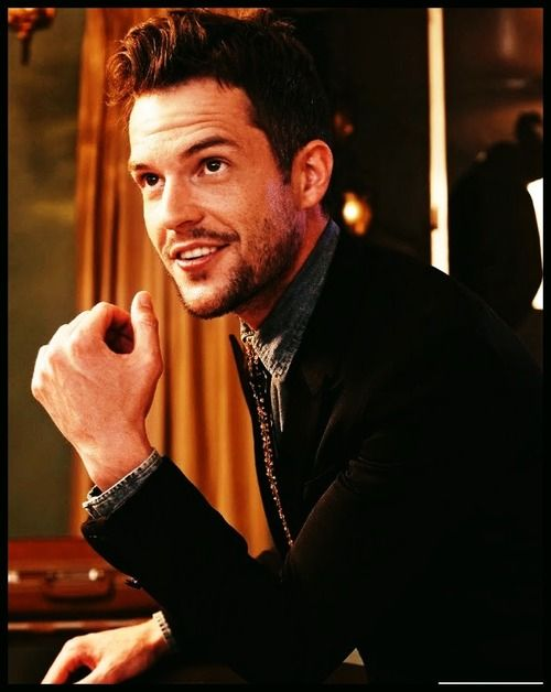 Brandon Flowers. He can do no wrong. I love everything Killers as well as his solo work. Doesn't hurt that he's hot as hell