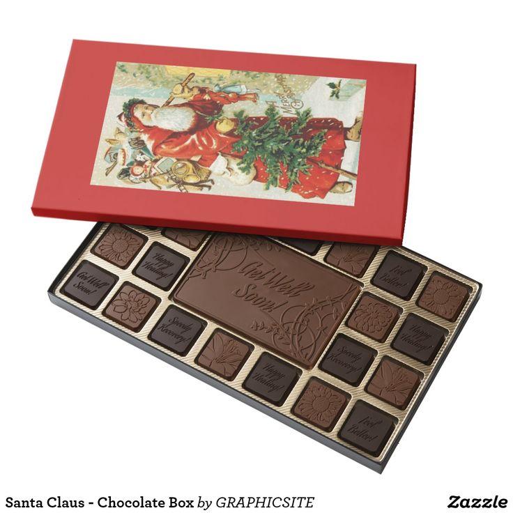 Santa Claus - Chocolate Box