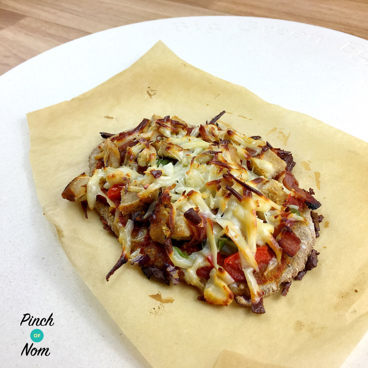 Syn Free Dominos Fakeaway Texas BBQ Pizza  Slimming World - http://pinchofnom.com/recipes/syn-free-dominos-fakeaway-texas-bbq-pizza-slimming-world/