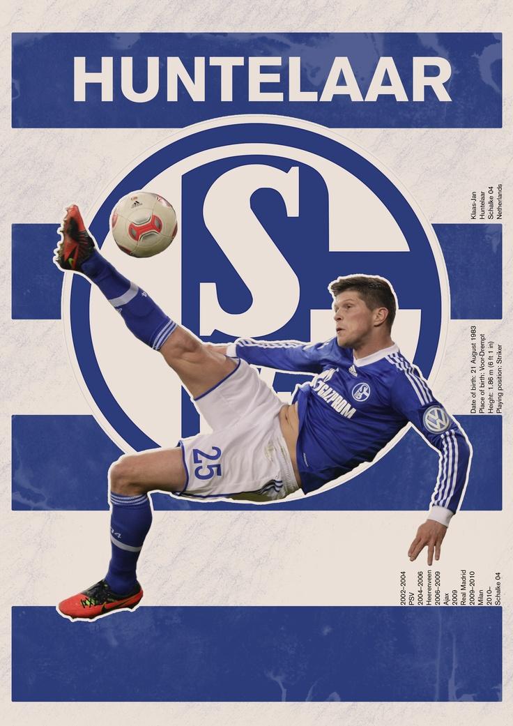 The Huntelaar/Schalke 04 poster