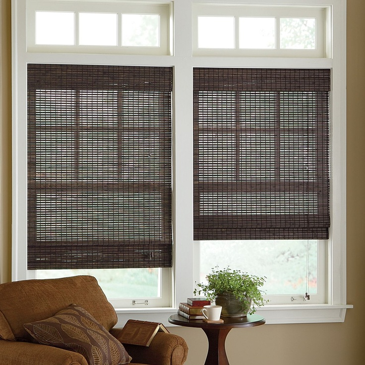 Best 25 bamboo roman shades ideas on pinterest bamboo shades bamboo blinds and bamboo curtains Home decorators collection bamboo blinds