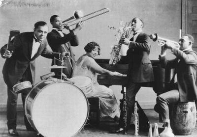 the emergence of jazz in the american music scene The earliest jazz musicians in canada were of american  scant evidence  survives of the first canadian jazz bands and.