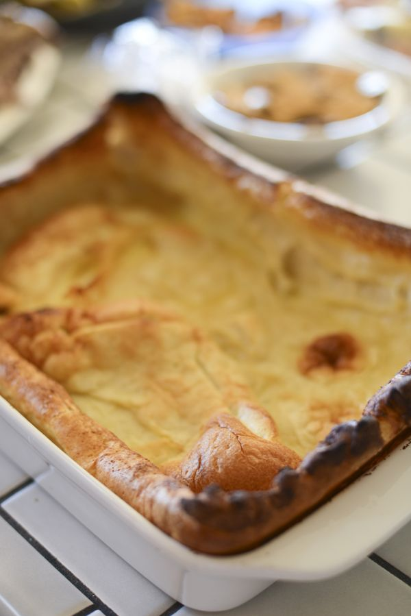 Yorkshire Pudding Recipe--a Divine (and EASY) Holiday Dish | TikkiDo.com    Thanks Lynne for introducing it to us Xmas day.