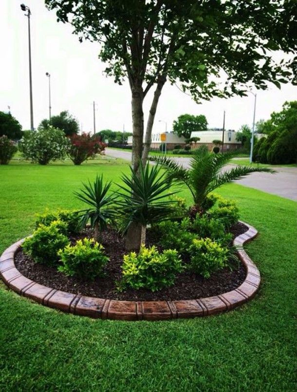 Beautify Your Garden With Landscaping Around Trees Home Garden Inspiring Interior Outdoor And Diy Ideas Landscaping Around Trees Front Yard Garden Design Front Garden Landscape