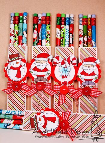 "Holiday Pencil ""Treats"""