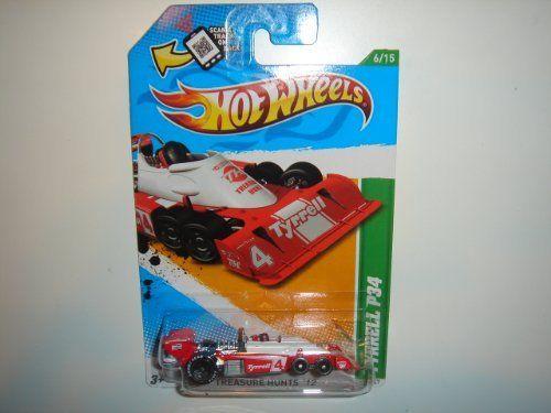 2012 Hot Wheels Treasure Hunt Tyrrell P34 Red/White #56/247 by Mattel. $7.99
