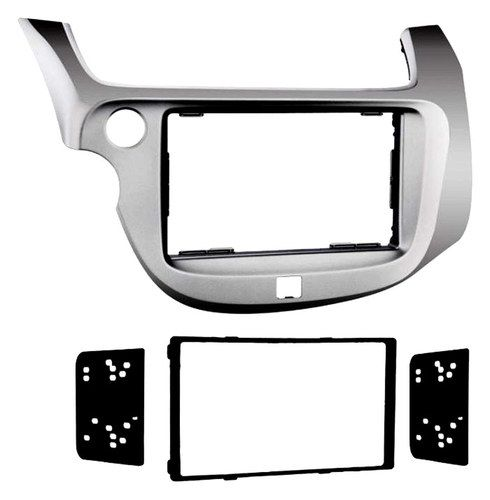 Metra - Installation Kit for Most 2009 and Later Honda Fit Vehicles - Silver
