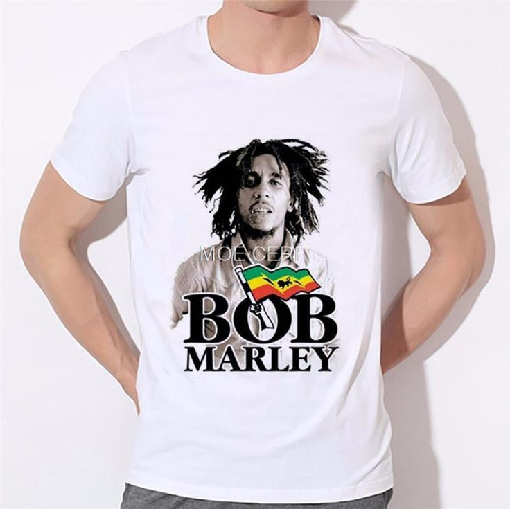 3d print Bob Marley t shirt fashion summer harajuku men/women's star emoji short sleeve top shirts summer tees clothes 14-16# #Affiliate