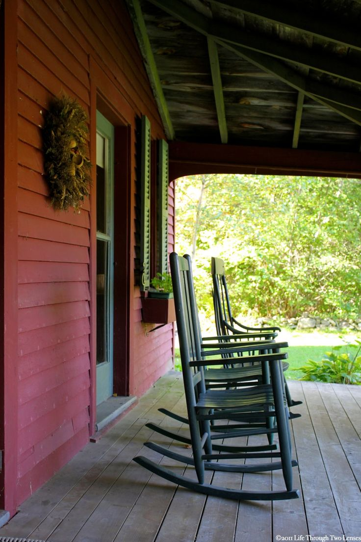 Join Me on the Porch, by Life Through Two Lenses Photography October 9, 2011 Lamoine Point, Maine