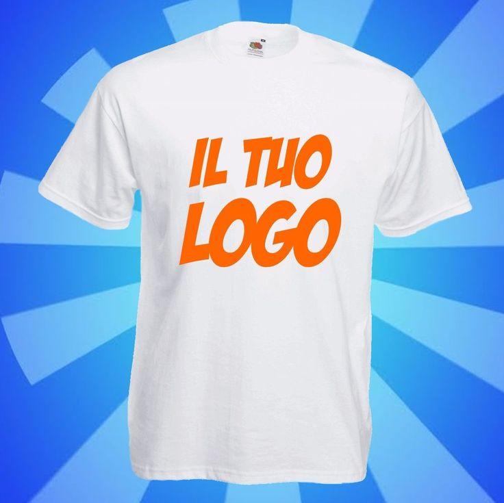 n. 100 Magliette in cotone bianco 100% personalizzate - TUTTO COMPRESO!