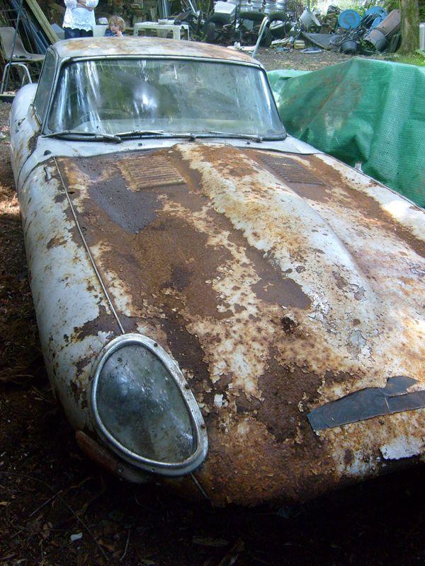 Jaguar E-Type Coupe - 1962 - Series 1 - Restoration Project   eBay