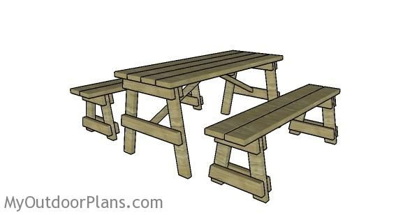 87 best picnic tables images on pinterest picnic tables picnic