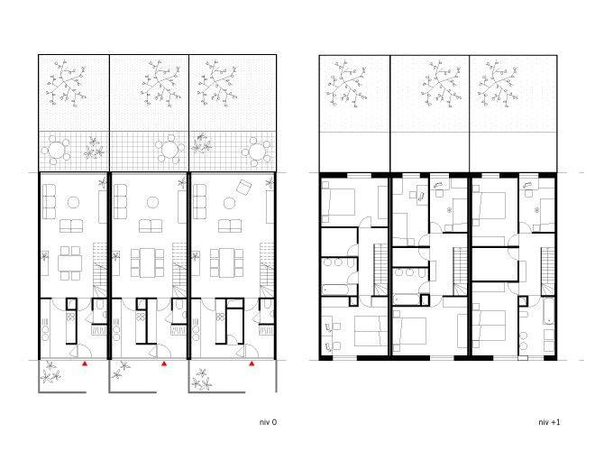 die besten 25 reihenhaus grundriss ideen auf pinterest duplex pl ne haussanierung und kleine. Black Bedroom Furniture Sets. Home Design Ideas