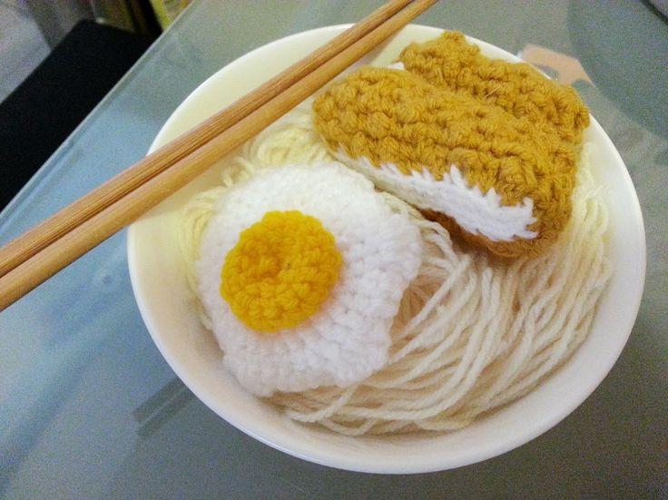 Crochet Katsu (Pork) Noodle