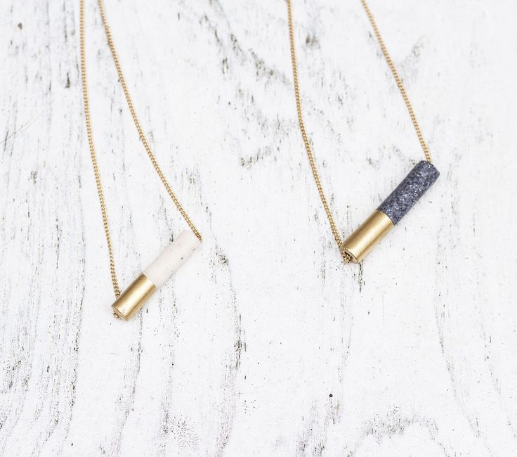 diy necklace idea | granite