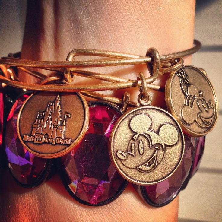 My Alex and Ani Disney bangles! Love! #CharmedArms