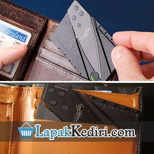 Pisau Lipat Kartu - Pisau Lipat Seukuran KArtu ATM Bisa di Simpan Di Dompet Barang Unik | Produk Unik | Kado Unik | Hadiah Unik | SMS 0896 7372 4335 | BBM 24e58173
