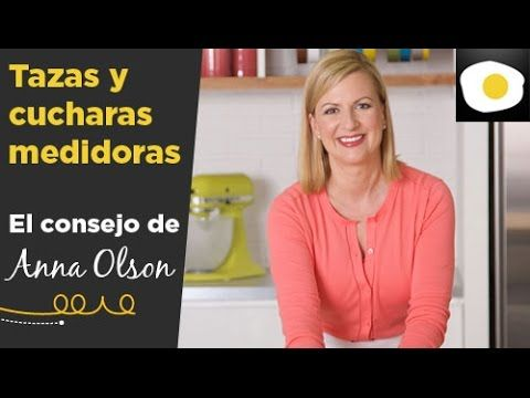 Tazas y cucharas medidoras en repostería   El consejo de Anna Olson - YouTube