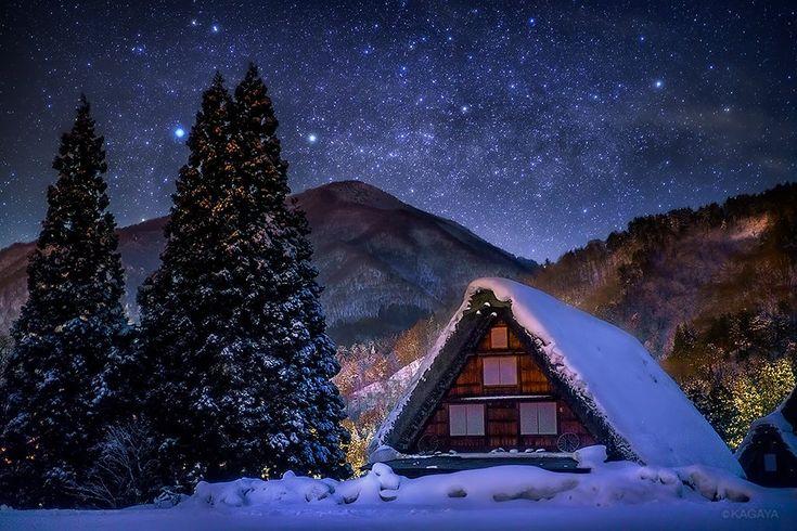 星の夜と月の夜に訪れた静かなおとぎ話のような世界。  - ツイナビ | ツイッター(Twitter)ガイド
