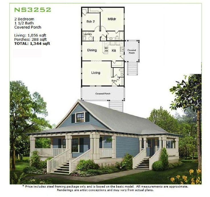 7 best prefab homes images on pinterest manufactured housing prefab homes panelized framing kit ns3252 1056 sq ft 2br 15ba diy solutioingenieria Images