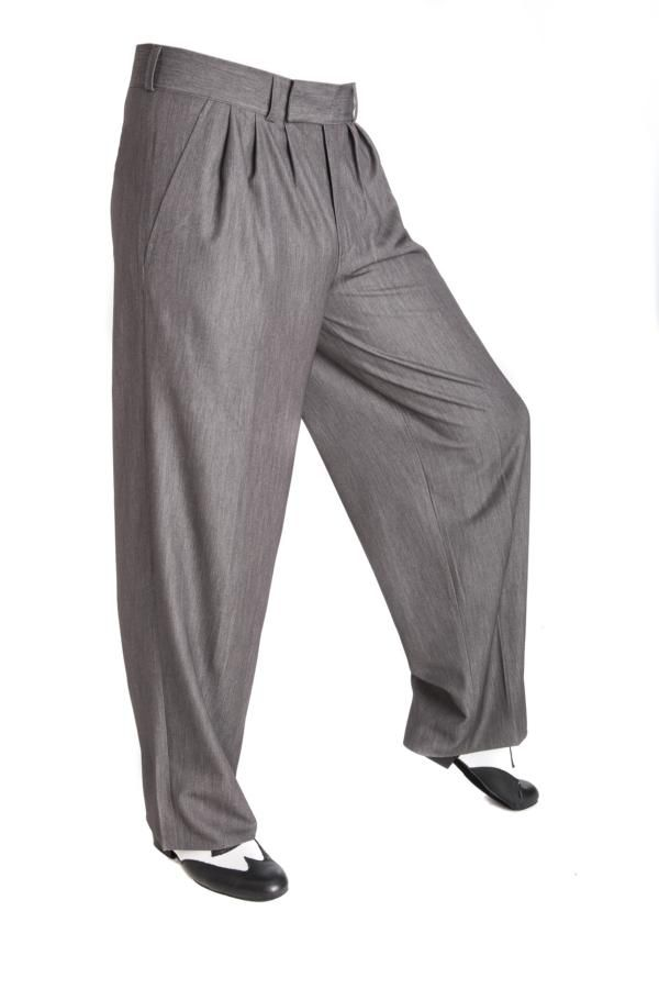Tango, Boogie Woogie, Swing Hosen in grau! Trousers for men!