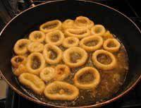 Spanish Tapas - Fried Squid Recipe - Calamares Fritos - Calamares a la Romana - Calamari Recipe