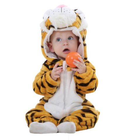 Tiger Jumpsuit Baby Rompers **FREE+SHIPPING**