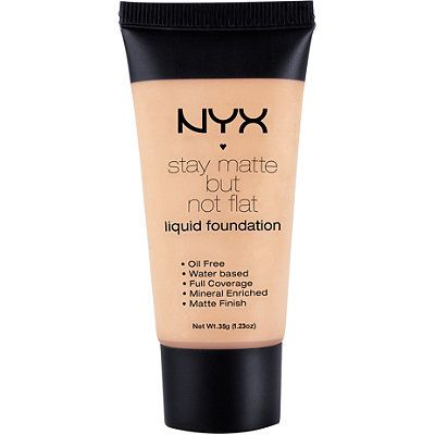 Nyx Cosmetics Stay Matte But Not Flat Liquid Foundation Golden Beige (online only)