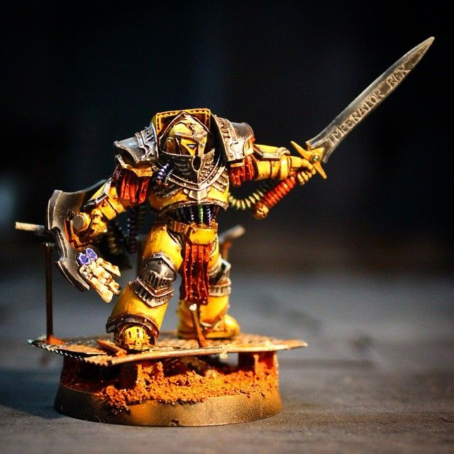 143 best images about 30k vii legion imperial fists on pinterest miniature painting studio - Imperial fists 40k ...