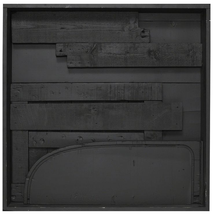 Louise Nevelson . day/night XI, 1973