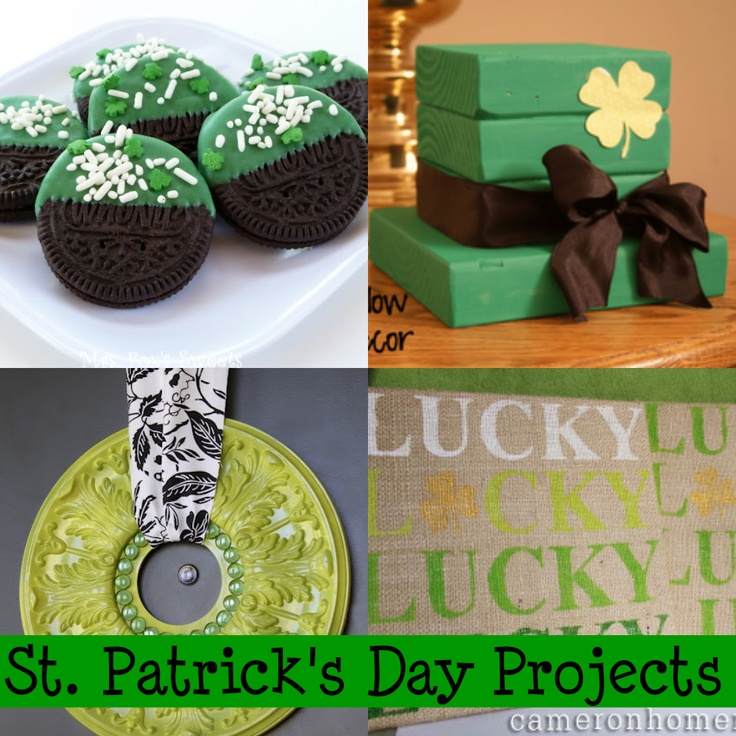 Great list of projects for St. Patrick's day