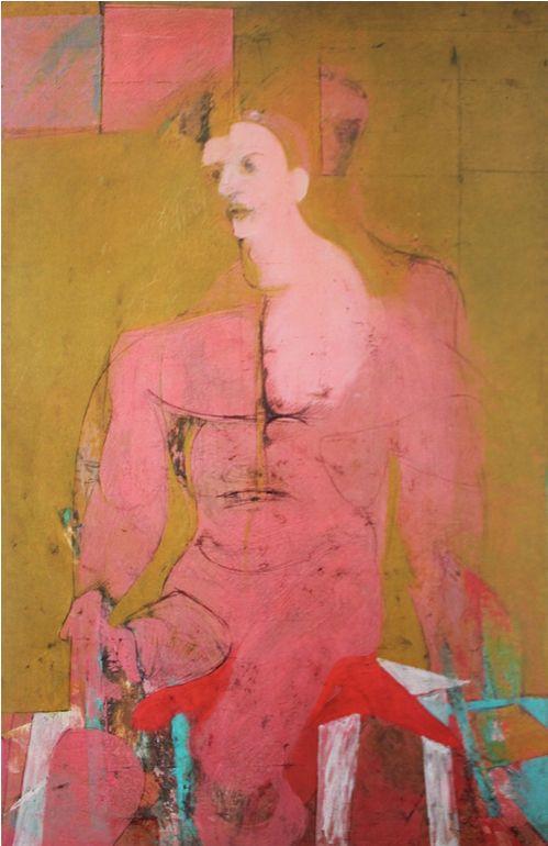 Willem de Kooning, Seated Figure (Classic Male) 1941-43