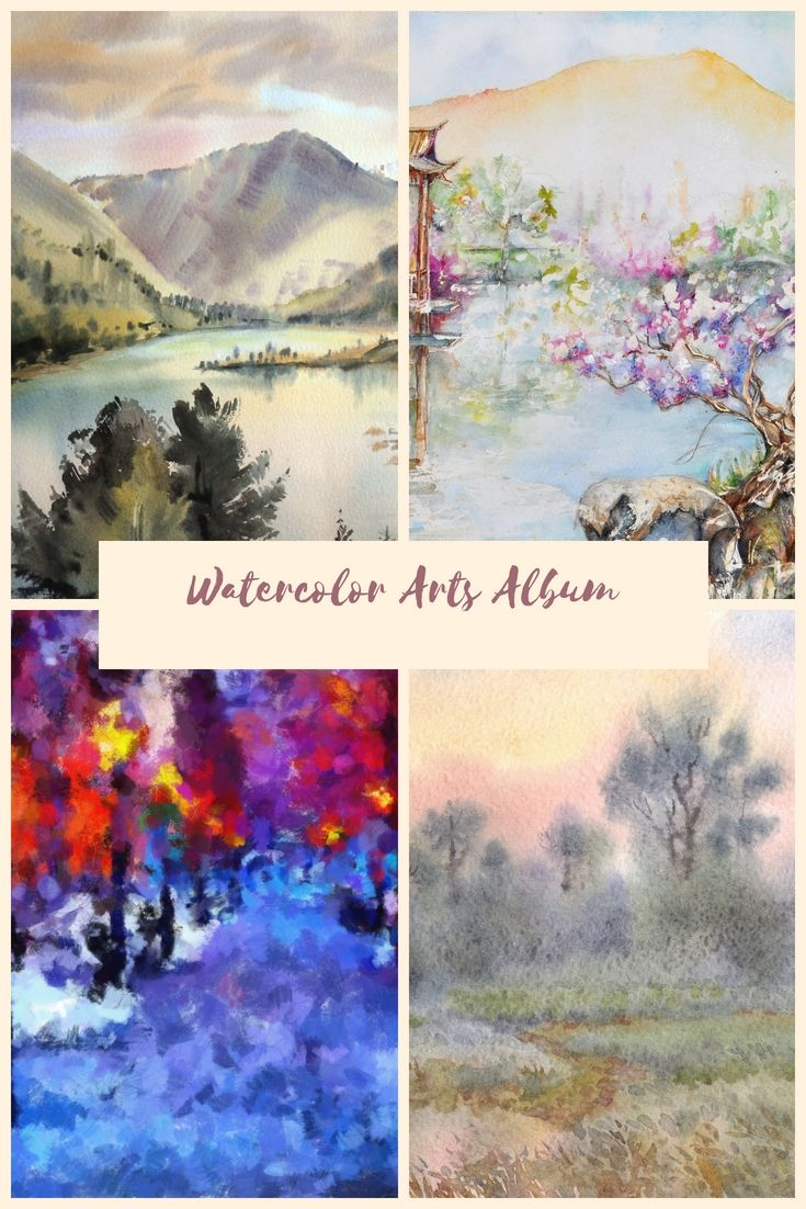 23 Best Watercolor Arts Albums Look At Techniques And Secret
