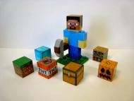 Price $22.95 This listing if for a Lego Minecraft Steve character with pickaxe and 6 blocks that are also made out of Lego and can be attached to othe...