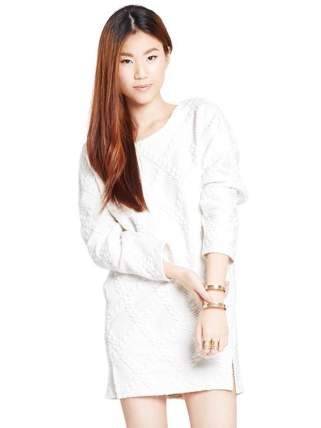 Image of Snow Angel Sweater Dress