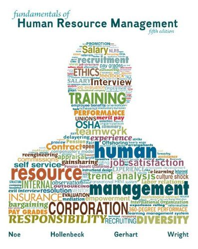 13 best business human resources images on pinterest resource fundamentals of human resource managementraymond noe john hollenbeck barry gerhart patrick wright fandeluxe Gallery