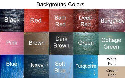 His Hers Bathroom Symbol Choose Color Rustic by designsbyprim