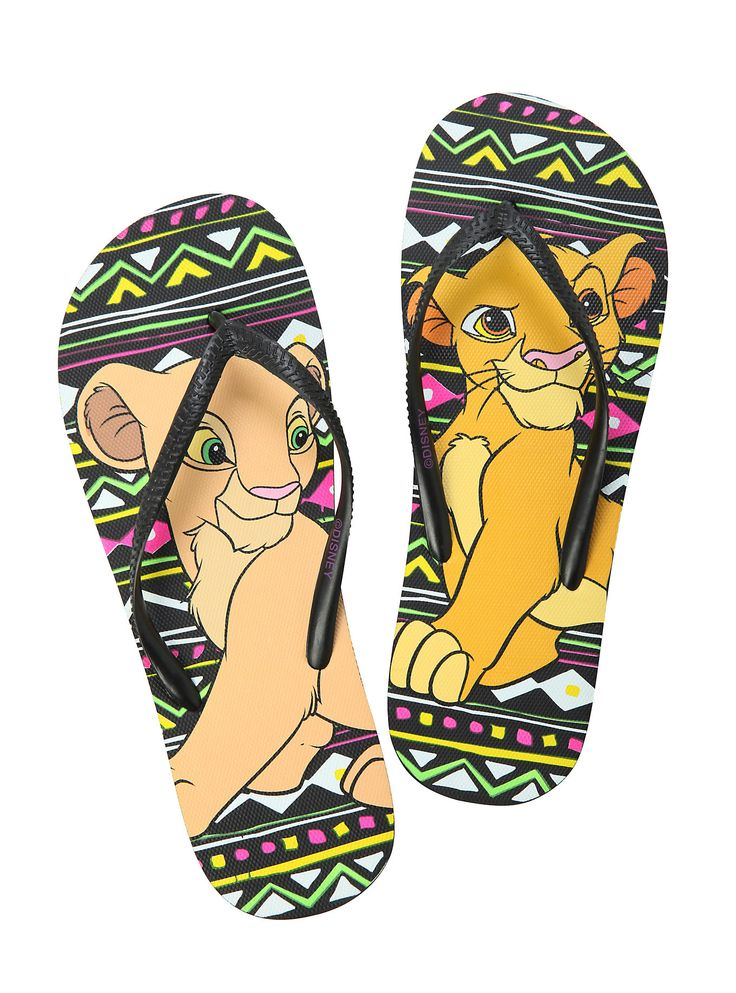 New Disney The Lion King flip flops from Hot Topic. I have these! But I got them from JC Penny