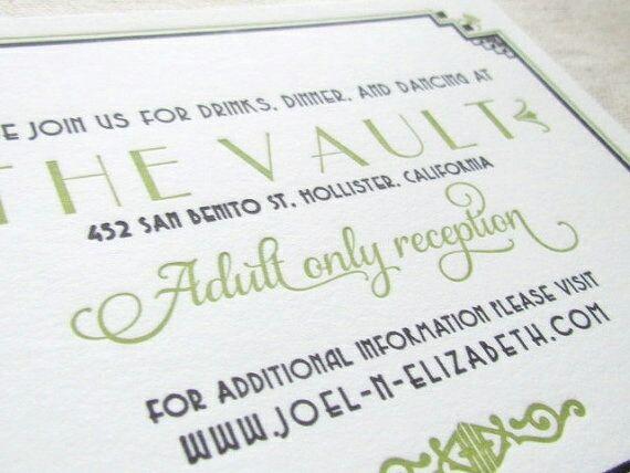 A KID-FREE WEDDING IS A CHOICE!