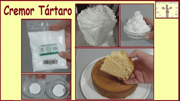 Qué es el cremor tártaro, Para qué y Cómo se usa?  Tutorial didáctico - Bitartrato de Potasio - YouTube