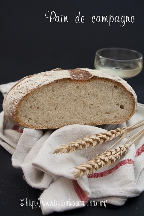 Pain de campagne - Trattoria da Martina - cucina tradizionale, regionale ed etnica