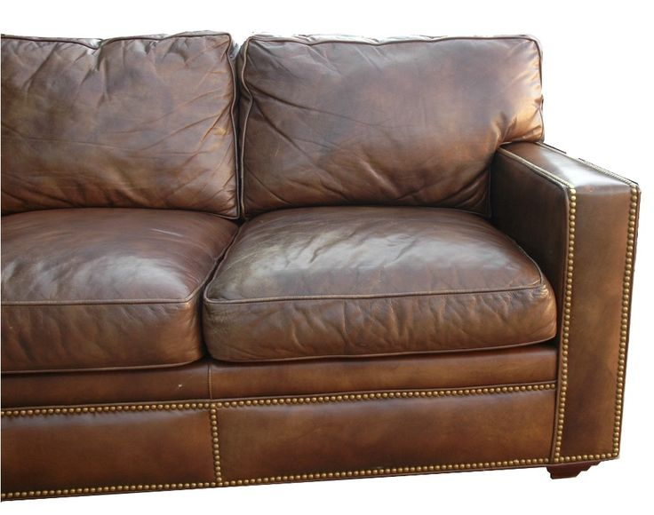 best 25  distressed leather sofa ideas on pinterest