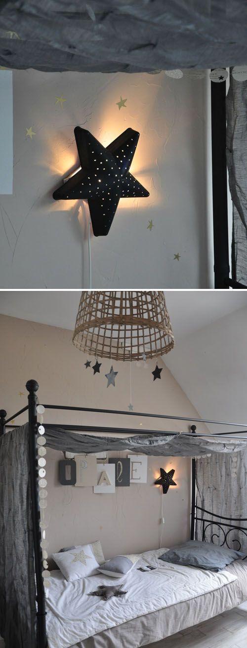 mommo design: IKEA HACKS - Smila Stjarna lamp painted black