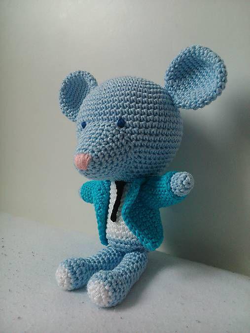 Crochet mouse kaizerka / Myšiak Filip