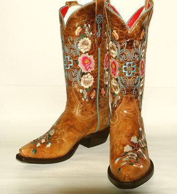 Honeybunch Stitched Cowgirl Boots - Macie Bean